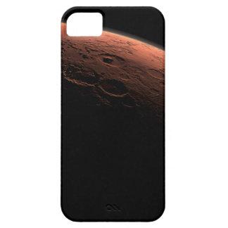 Salida del sol en el planeta Marte del cráter del iPhone 5 Carcasas