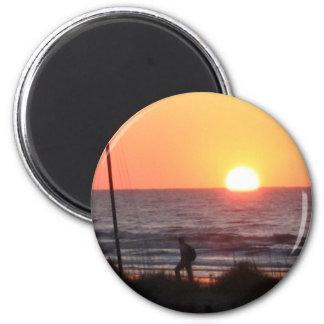 Salida del sol en el SC Imán Redondo 5 Cm