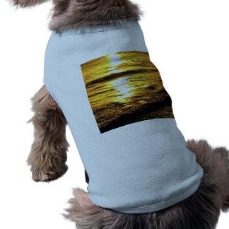 Salida del sol en Grecia Camisetas De Perrito