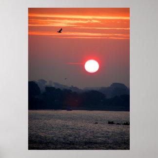 Salida del sol en Guernesey Impresiones
