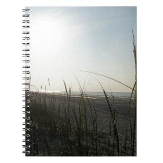 Salida del sol en Hilton Head Notebook