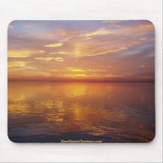 Salida del sol en la bahía de Biscayne Tapete De Ratón
