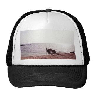 salida del sol en la fotografía de la playa gorros