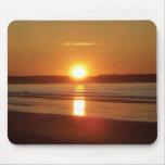 Salida del sol en la playa vieja de la huerta, Mai Alfombrillas De Ratón