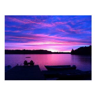 ¡Salida del sol en Maine!!! Postales