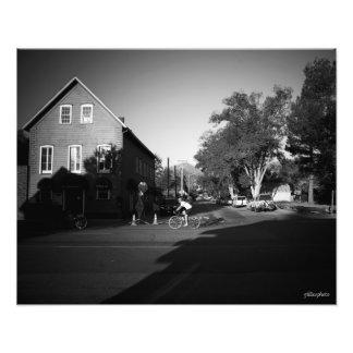 Salida del sol en Markleeville Arte Fotográfico