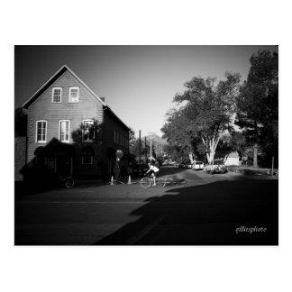Salida del sol en Markleeville Postal