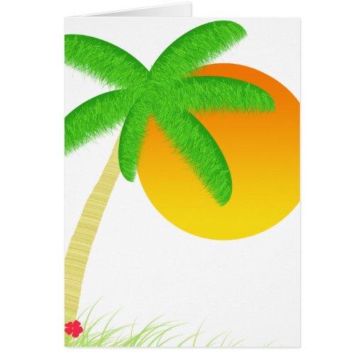 Salida del sol en Maui Tarjeta De Felicitación