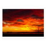 Salida del sol épica Longmont Colorado Bou del dep Postales