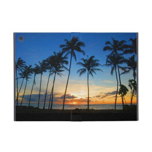 Salida del sol hawaiana - Kapaa - Kauai - Hawaii iPad Mini Carcasas