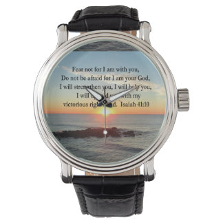 SALIDA DEL SOL HERMOSA DEL 41:10 DE ISAÍAS RELOJES DE MANO