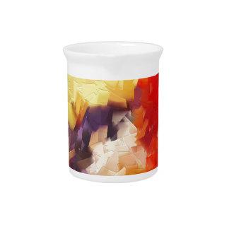 salida del sol impresionista abstracta de la jarra