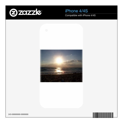 Salida del sol iPhone 4 skins