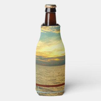 Salida del sol marina enfriador de botellas