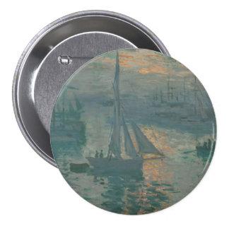 Salida del sol (marina) por Claude Monet Pins