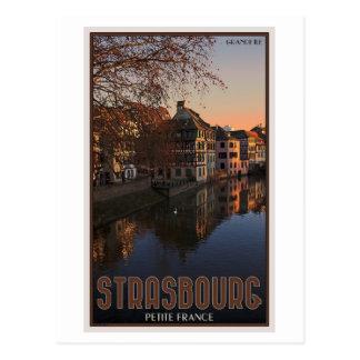 Salida del sol menuda de Estrasburgo - Francia Tarjeta Postal