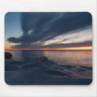 Salida del sol Milwaukee, Wisconsin de North Point Alfombrillas De Ratones