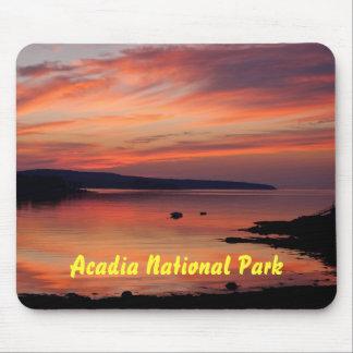 Salida del sol Mousepad del Acadia Alfombrillas De Ratones