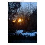 Salida del sol Nevado Tarjeton