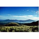 Salida del sol, parque nacional de Tongariro, isla Esculturas Fotográficas