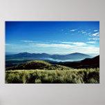 Salida del sol, parque nacional de Tongariro, isla Impresiones