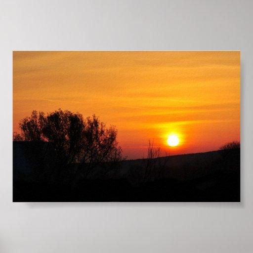 Salida del sol - poster