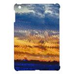 salida del sol-puesta del sol iPad mini fundas