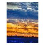salida del sol-puesta del sol membrete personalizado