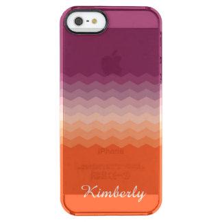 Salida del sol quebradiza funda clearly™ deflector para iPhone 5 de uncommon