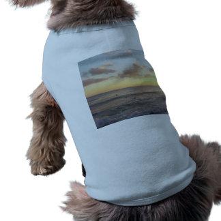 Salida del sol camisa de perrito