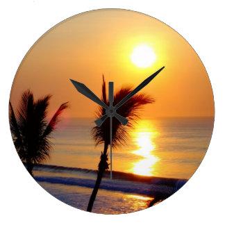 Salida del sol San Jose de Cabo del reloj de pared