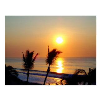 Salida del sol - San Jose de Cabo Tarjeta Postal