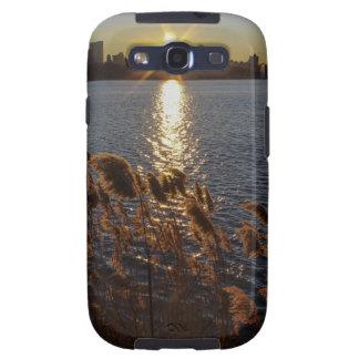 Salida del sol sobre Central Park NYC Samsung Galaxy S3 Carcasa