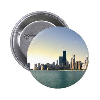 Salida del sol sobre Chicago Pins