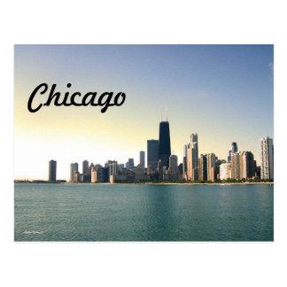 Salida del sol sobre Chicago Postal