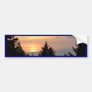 Salida del sol sobre el lago Superior.jpg Pegatina Para Auto