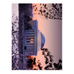 Salida del sol sobre el monumento de Jefferson en  Tarjeta Postal
