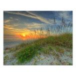 Salida del sol sobre las dunas de arena en Daytona Arte Con Fotos
