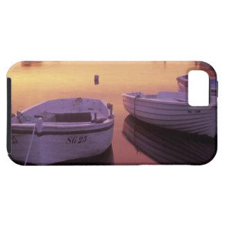Salida del sol sobre puerto del graduado de Stari  iPhone 5 Protector