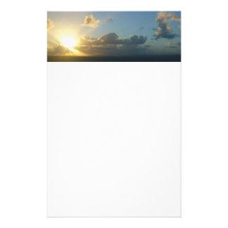 Salida del sol sobre San Juan II Puerto Rico Papeleria
