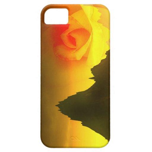 Salida del sol subió iPhone 5 protectores