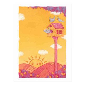 Salida del sol tarjetas postales