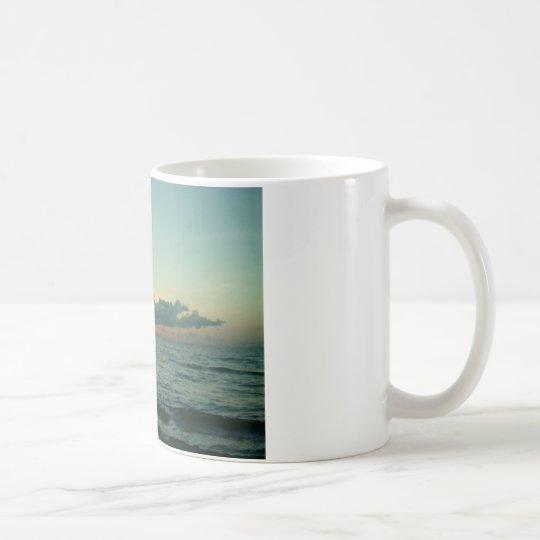 Salida del sol taza de café