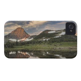 Salida del sol y reflexión, Parque Nacional iPhone 4 Protectores