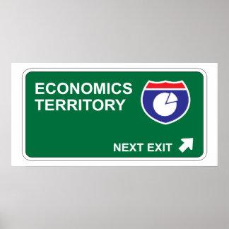 Salida siguiente de la economía impresiones