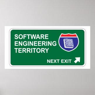 Salida siguiente de la ingeniería de programas inf póster