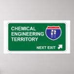 Salida siguiente de la ingeniería química impresiones