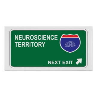 Salida siguiente de la neurología posters