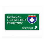 Salida siguiente de la tecnología quirúrgica postales