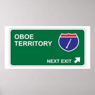 Salida siguiente de Oboe Posters